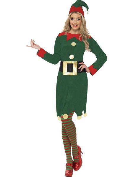 0ba8e754d Kostým Vánoční Elfka - Půjčovna kostýmů Praha