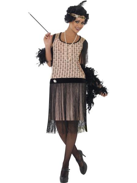 9841f67cec6 Chystáte se na párty či svatbu ve stylu 20. let  Vyražte v tomo kostýmu z  naší půjčovny! Kostým obsahuje šaty